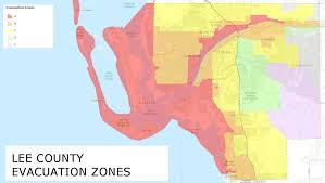 Fort Myers Florida Map by Know Your Hurricane Evacuation Zone Wgcu News