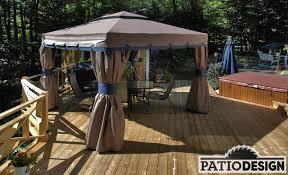 spa d exterieur bois conception fabrication et installation de patio autour d u0027un spa