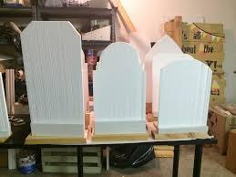 halloween tombstones diy the manions