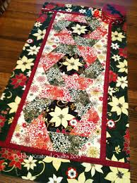 Christmas Plaid Table Runner by Sew In Love With Fabric Christmas In July Blog Hop Day 2