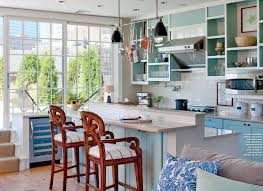 Beach House Kitchens Pinterest by Dream Kitchen My Robins Egg Blue Mixer Would Fit In Quite Well In