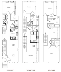 multi level floor plans brownstones at