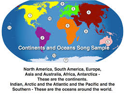 Blank Continent Map by Kathy Troxel Audio Memory 800 365 Sing Call To Order