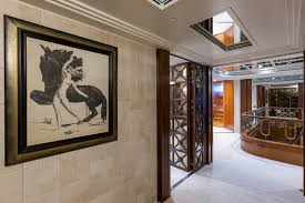 Foyer by Luxury Yacht Charter Calypso Amels Yacht Calypso Upper Deck