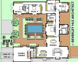 plans for houses u shaped house plans with courtyard pool home mansion