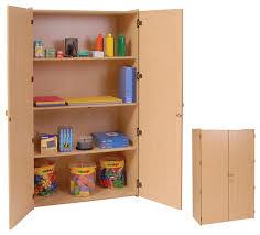 Bookcase With Lock Steffywood Organizer Teachers 3 Shelf Wooden Locking Storage