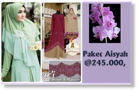 Baju Muslim Grosir aisyah baju muslim murah produsen baju muslim dan fashion