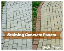 Painting Patio Pavers Concrete Patio Pavers Concrete Stain Ideas For An Update