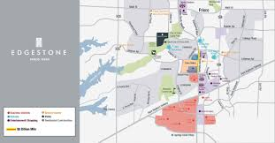 frisco map edgestone living a master planned community in frisco