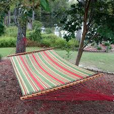 Hammock Swing With Stand Pawleys Island Trellis Garden Large Quilted Fabric Hammock With
