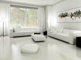 modern living room interior with model in modern living room