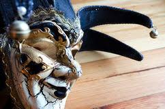 venetian jester mask venetian jester mask stock photo image 64717784