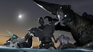 the iron giant sfm the iron giant v pacific rim kaiju by maddogsamureye on deviantart