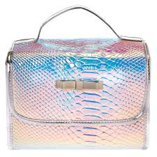 makeup bag holographic roll travel makeup bag s us