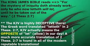 errors in the king version kjb kjv bible only mistakes
