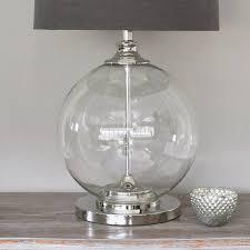 glass ball table lamp ideas glass ball table lamp ideas plan