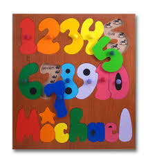 Personalized Name Wooden Personalized Name Puzzles