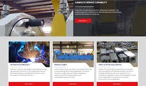 web design for manufacturing companies web designer for