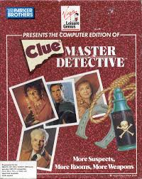 clue master detective for dos 1989 mobygames