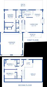 Nantucket Floor Plan by The Nantucket Strongwood Carolina Log Homes
