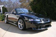 2001 Black Mustang 2001 Saleen Supercharged Convertible Mustang Saleen Pinterest