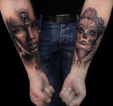 tattoos on biceps for guys cancer tattoos tattoo design and ideas