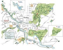 Map Of Berks County Pa Interactive Trail Map Pennsylvania U0027s Americana Region Reading