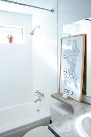 How To Clean A Bathtub With Comet How To Paint Shower Tiles White A Budget Remodel Option