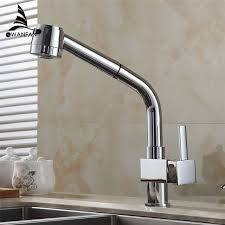 brass kitchen faucet kitchen faucet chrome silver brass kitchen sink faucet pull