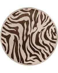 Brown Zebra Area Rug Sweet Deal On Tufted Brown White Zebra Animal Print Bruton