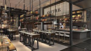 Restaurant Open Kitchen Design by Dining Trends Is The Open Kitchen Over Design Middle East