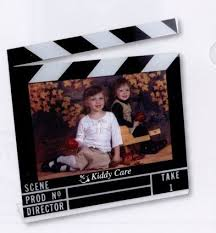 photo frame party favors themed clapboard picture frame with your personalization bar