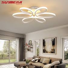 Bedroom Led Ceiling Lights Surface Mounted Modern Led Ceiling Lights For Living Room