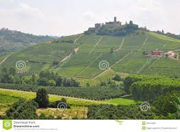 Piedmont Italy Map by Barolo Wine Alba Piedmont Italy Royalty Free Stock Image Image