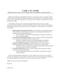carla cook cover letter
