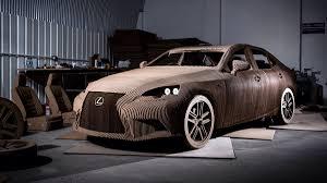 meet the lexus car made from cardboard u2022 just naira