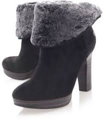 ugg boots sale manhattan ugg grey boots with purple trim size 10 womens