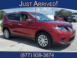 nissan rogue used 2014 used 2014 nissan rogue fwd 4dr s for sale sebring fl vin