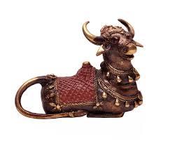 Sculpture For Home Decor by Wholesale Metal Bull Sculpture Figurine Bulk Buy Handmade 6 5