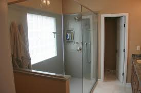 bathroom doors ideas master bathroom showers without doors master showers without doors