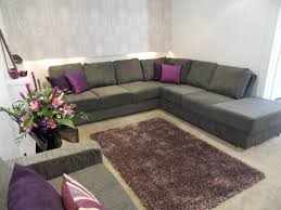 Grey Living Room Ideas by Purple And Grey Living Room Decorating Ideas House Design Ideas