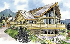 2 cabin plans log plan 1 987 square 2 bedrooms 2 5 bathrooms 035 00427