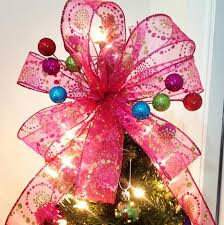 christmas tree bow topper awesome diy christmas tree topper ideas tutorials hative