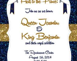 royalty themed baby shower royal themed etsy