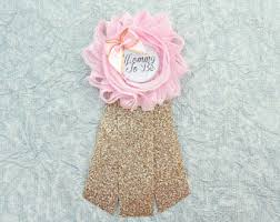 Mom To Be Corsage Baby Shower Pin Etsy