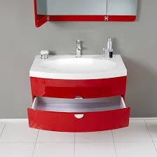 Wall Mount Bathroom Vanities by Fresca Energia Single 36 Inch Modern Wall Mount Bathroom Vanity