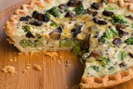 Quiche Blind Bake Or Not Broccoli Mushroom And Gouda Quiche Recipe Chowhound