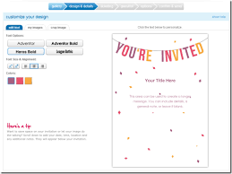 wedding invitations maker create a wedding invitation online pacq co