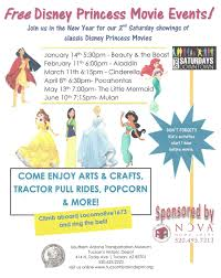 arizona families free mermaid princess movie event tucson