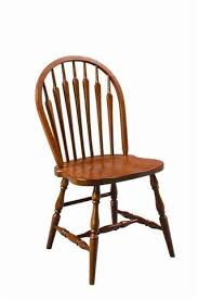 Windsor Dining Room Chairs Amish Solid Wood Windsor Dining Chair Made In Usa